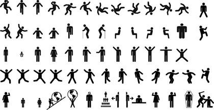 Free Vector Sign Pictograms