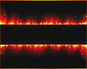 Stock Vector Flame-Fire#2