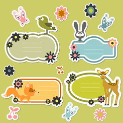 Animal icons vector-2