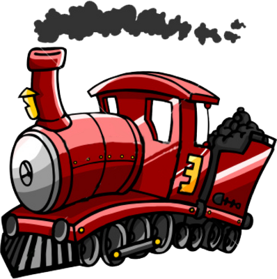 Red Train PSD