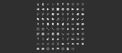 256 Collection of Web Vector Icons