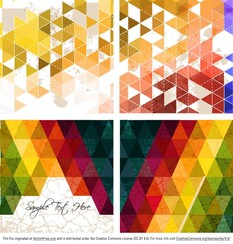 Abstract Polygonal Background Vectors