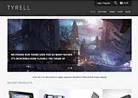 Tyrell Lite - Free Responsive WooCommerce Theme