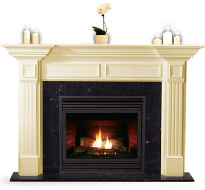 Free fireplace PSD Vector Graphic - VectorHQ.com