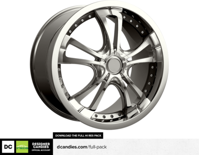 HQ Chrome Rim PSD