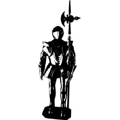 KNIGHT FREE VECTOR GRAPHICS.eps