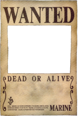 Wanted Sign PSD