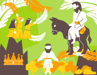 Free Palm Sunday Vector Pack