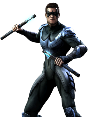 Nightwing (Injustice) PSD