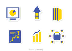 Big Data Management Icons Vector Pack 2