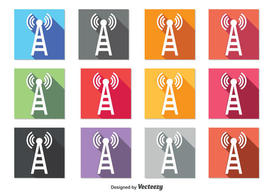 Cell Phone Tower Icons