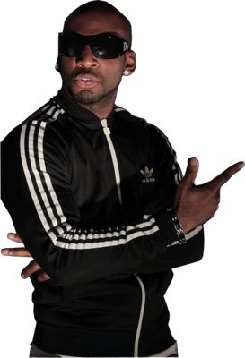 S-PI in adidas ( french rapper ) PSD