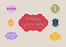 Free Different Vector Labels