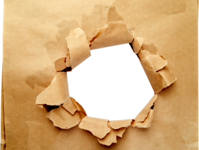 Busted Paper Bag PSD