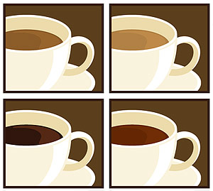 Coffee Sub-Vector Graphic