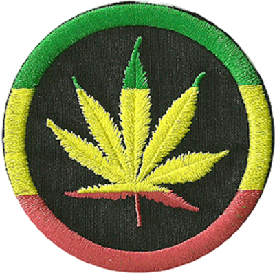 rasta leaf patch PSD