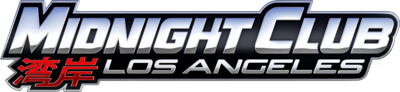 Midnight Club Los Angeles Logo PSD