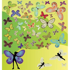 Beautiful Butterfly Collection Free
