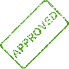 Approved Business Stamp 2