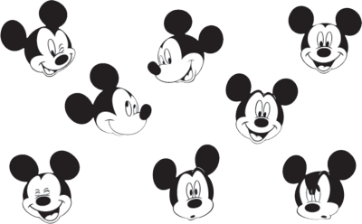 mickey mouse 3 PSD