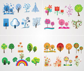 Tree Vector Icons (Free)