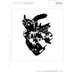 ENGINE VECTOR IMAGE.eps