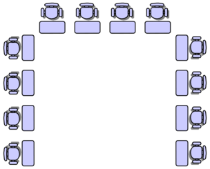 Classroom seat layouts
