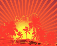 Tropical Rising Sun