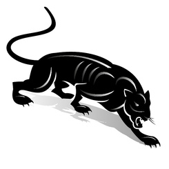 BLACK PANTHER CLIP ART.eps