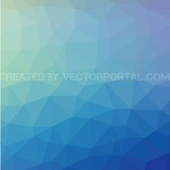 BLUE ABSTRACT LOW POLY VECTOR.eps