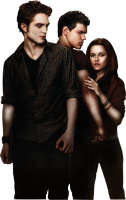 Edward Bella and Jacob from twilight PSD