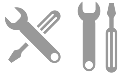 Vector Hand Wrench Tool - Spanner Illustration