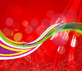 the red dotted art abstract background