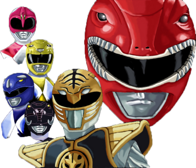 Mighty Morphin Power Rangers PSD