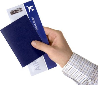 Airline ticket 2 PSD