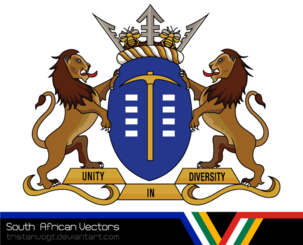 South African Vectors - Gauteng Coat of Arms