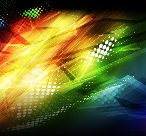 Abstract Colorful Vector Background Art
