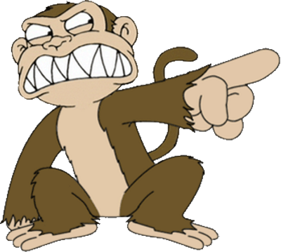 Evil Monkey From Family Guy PSD