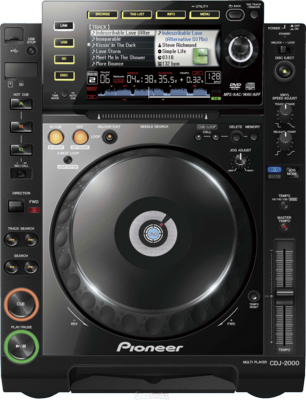 Pioneer CDJ 2000 cd player PSD