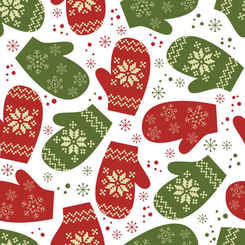 Christmas background vector pattern