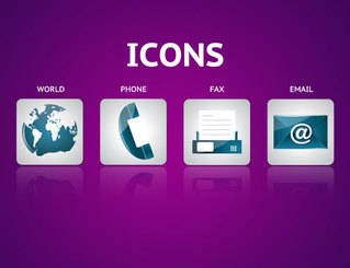 Contact Icon Vector Pack Free