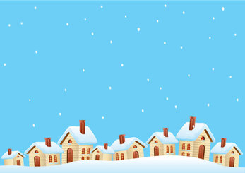 Cartoon cabin background 01