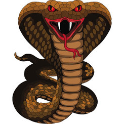COBRA SNAKE MONSTER VECTOR.eps