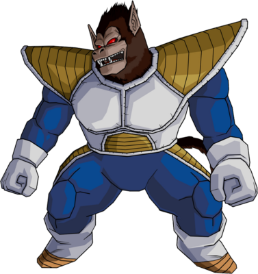 Dragon Ball Z Tarble the Great Ape PSD