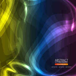 Abstract vector background colorful