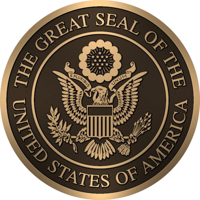 UNTIED STATES SEAL (BRONZE) PSD