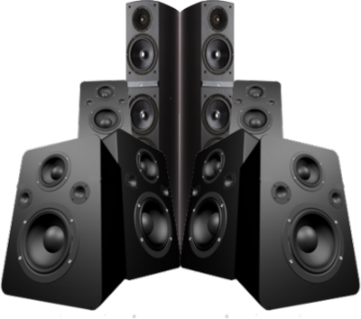 3d Speakers PSD