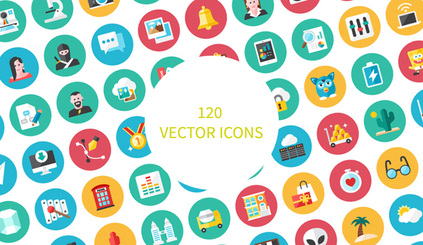 120 Vector Icons