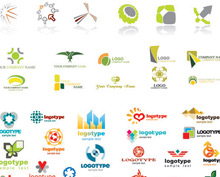 Business Logo Collection Vector Set