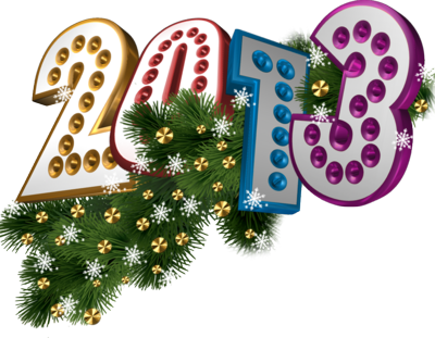 New Year 2013 Decoration [1] PSD